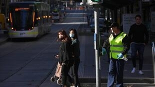 2020-06-17 health australia victoria melbourne CBD tram covid-19 restrictions reimposed
