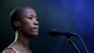 La chanteuse malienne Rokia Traoré.
