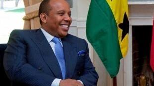 Patrice Trovoada, primeiro ministro são-tomense e líder da ADI