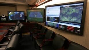 La salle de crise de la Maison Blanche (en photo) a été reproduite à l'identique dans un hôtel pour la simulation d'une cyber-attaque.
