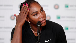Serena Williams withdrew from a Grand Slam tournament for the first time in 53 appearances.