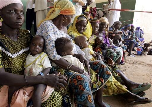 Women and children are the first victims of malnutrition.