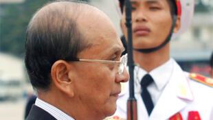 Thein Sein, élu président de la Birmanie, 4 février 2011.