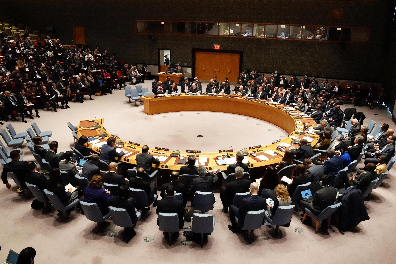 Ảnh tư liệu: Hội Đồng Bảo An Liên Hiệp Quốc từng bàn về tình hình Venezuela ngày 26/01/2019.