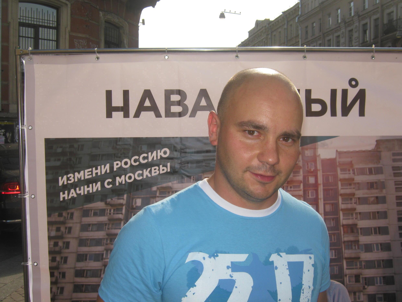 Член Координационного совета оппозиции Андрей Пивоваров