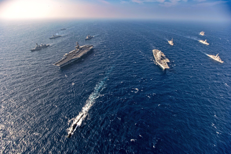 QUAD - Marine - Indo-Pacifique