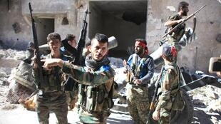 Les soldats syriens ont pris le camp de Handarat samedi avant de le perdre, moins de 24 heures après.