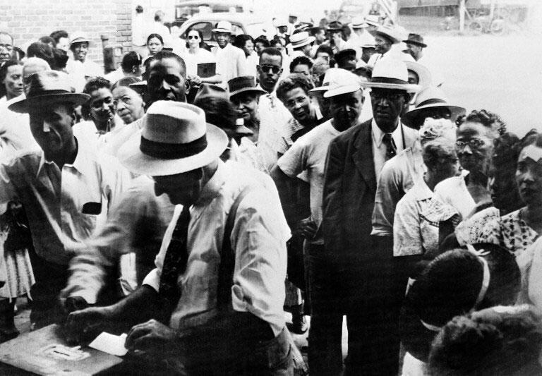En Caroline du Sud, les Noirs n'ont pas eu le droit de voter entre 1870 et 1948.