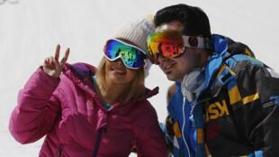 اسکیبازان ایرانی در توچال