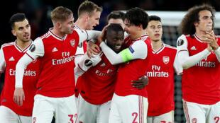 L'équipe d'Arsenal, le 24 octobre 2019.