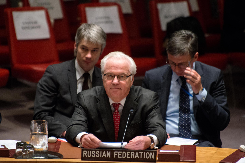 Посланник России в ООН Виталий Чуркин