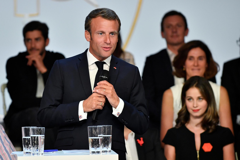Emmanuel Macron a convié le 17 septembre à l'Elysée le gratin de la tech et de la finance.