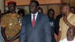 Shugaban rikon kwarya na Burkina Faso, Michel Kafando a Ouagadougou