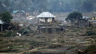 The town of Cagayán de Oro was ravaged by storm Washi/Sendong