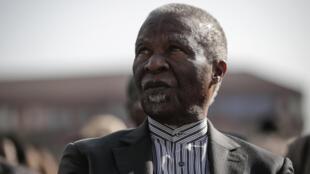 Rais wa zamani wa Afrika Kusini Thabo Mbeki, Julai 18, 2018 huko Johannesburg.