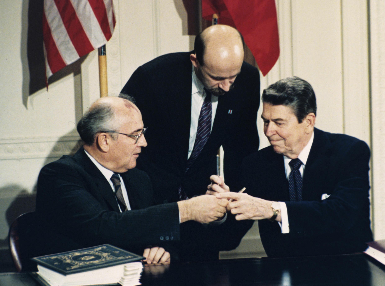 Gorbachev Reagan Interpreter Palazhchenko