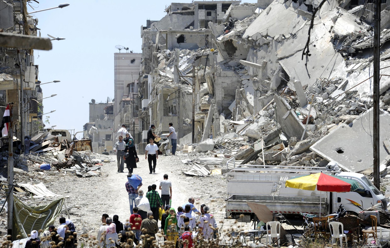 Uharibifu nchini Syria