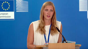 Natasha Bertaud, porta-voz da Comissão Europeia.