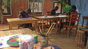Le centre d'art-thérapie à Porto-Novo ouvert par l'artiste Louis Oké-Agbo.