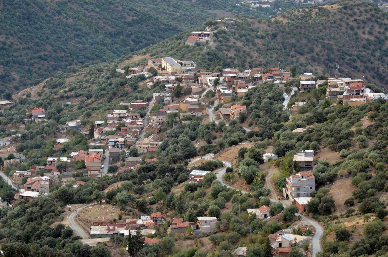 La région de Bouira en Algérie où des cellules terroristes seraient toujours actives.