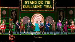 France - Théâtre - Paris - V'lan dans l'oeil -