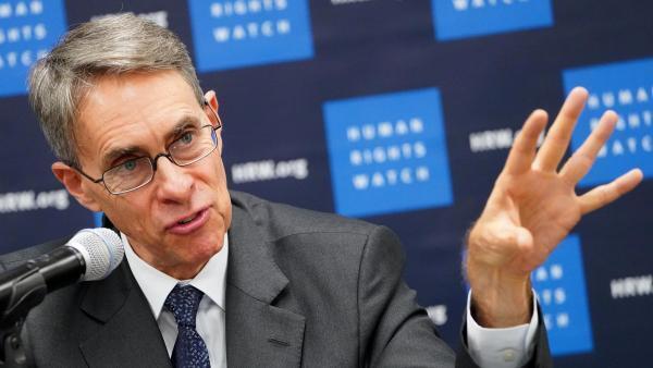 Kenneth Roth, directeur exécutif de Human Rights Watch, au siège de l'ONU, le 14 janvier.