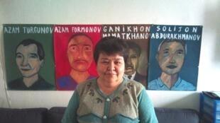 Mutabar Tadjibaeva, la journaliste indépendante et militante des droits de l'homme en Ouzbékistan, a reçu le prix des droits de l'homme de l'Acat 2014.