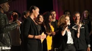 Estelle B, gagnante du concours Trace Music Star