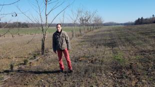 Rémi Seingier, agriculteur à la Ferme de Grand'Maison à Lumigny en Seine-et-Marne.