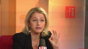 Barbara Pompili, députée EELV de la Somme, co-présidente du groupe écologiste à l'Assemblée nationale.