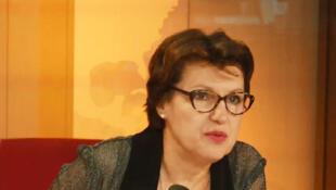 Annie Genevard, députée du Haut-Doubs, vice-présidente de l'Assemblée nationale.