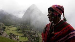 Une vue du Macchu Picchu, au Pérou (image d'illustration).