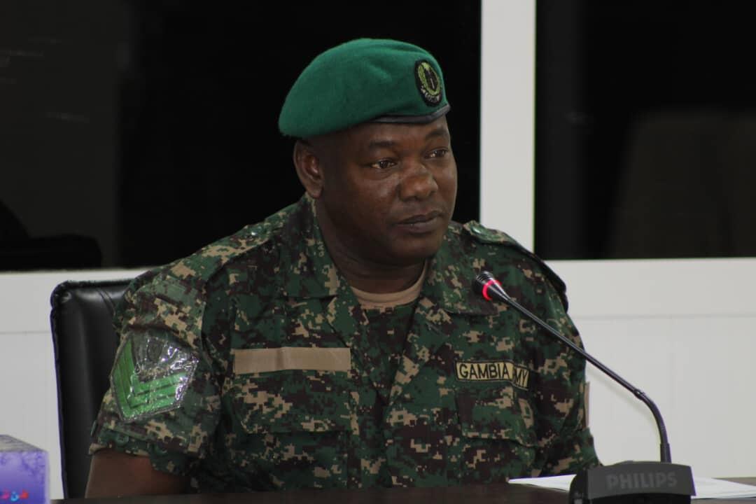 Omar A. Jallow, membre des escadrons de la mort du dictateur gambien Yahya Jammeh, est entendu par la Commission vérité réconciliation.