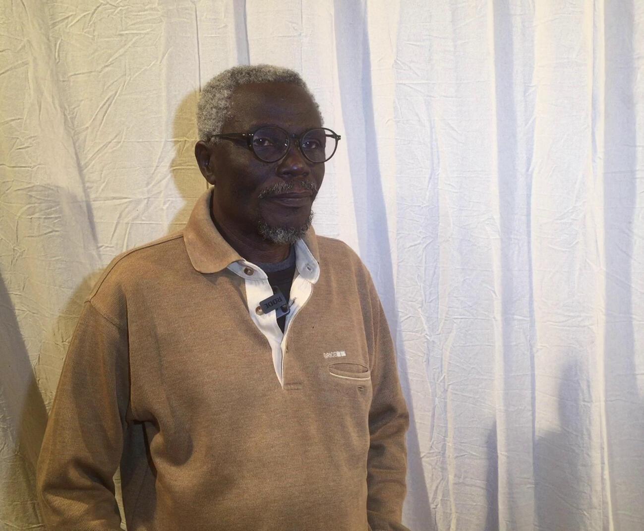 Alougbine Dine, directeur et fondateur de l'École internationale de théâtre au Bénin (EITB).
