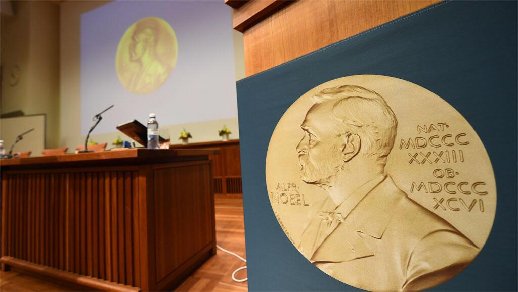 Médaille - Prix Nobel de la Paix.