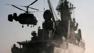Les manoeuvres navales conjointes entre la Chine et la Russie doivent durer six jours.