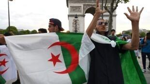 Deux magasins situés à proximité des Champs-Elysées à Paris ont été pillés par plusieurs dizaines de personnes en marge d'un rassemblement festif après la victoire de l'équipe de football d'Algérie lors de la Coupe d'Afrique des nations (CAN).