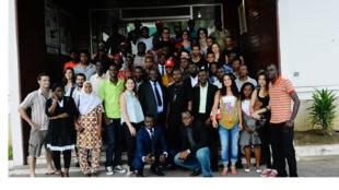 Mondoblog Abidjan, 2014.