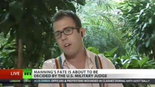 Джеймс Керчик на Russia Today 22/08/2013