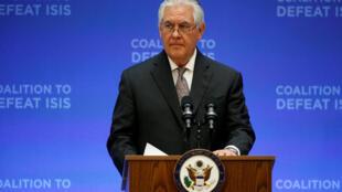 O secretário de Estado dos EUA, Rex Tillerson