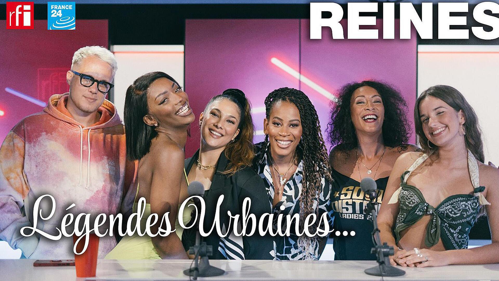 Musique - Légendes urbaines_reines pour l'amour du rap - Juliette Fievet - 23 10 2021