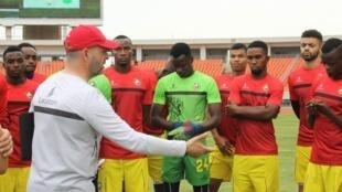 Luís Gonçalves - seleccionador de Moçambique - Mambas - Futebol - Football - Moçambique