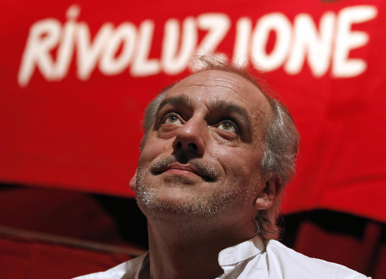 El candidato Philippe Poutou.