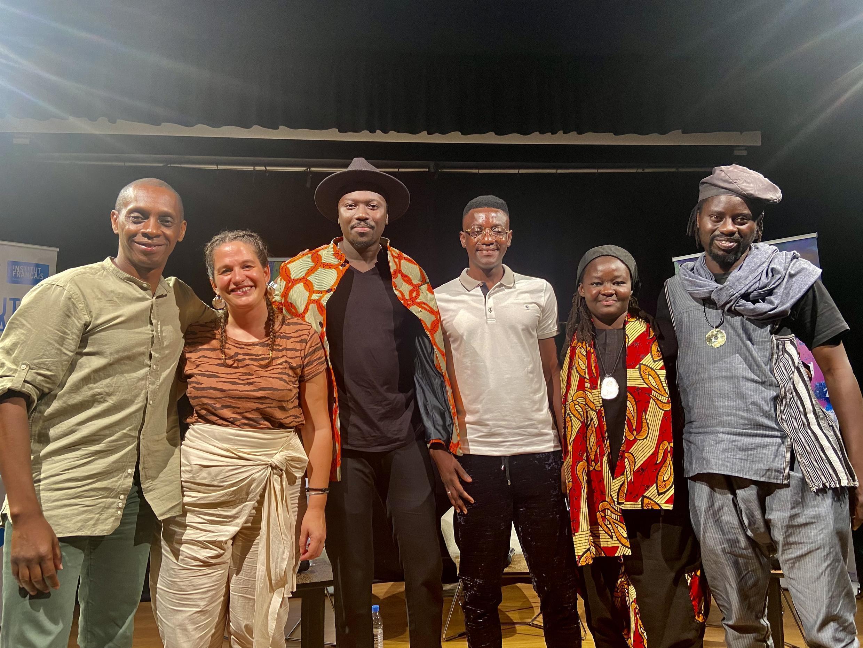 Claudy Siar, Camille Seck, Cheikh Ibra Fam, Cheikh Coka, Shula Ndiaye et Alibeta au Dakar Music Expo 2021