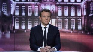 Emmanuel Macron foi eleito presidente da França em 7 de maio de 2017