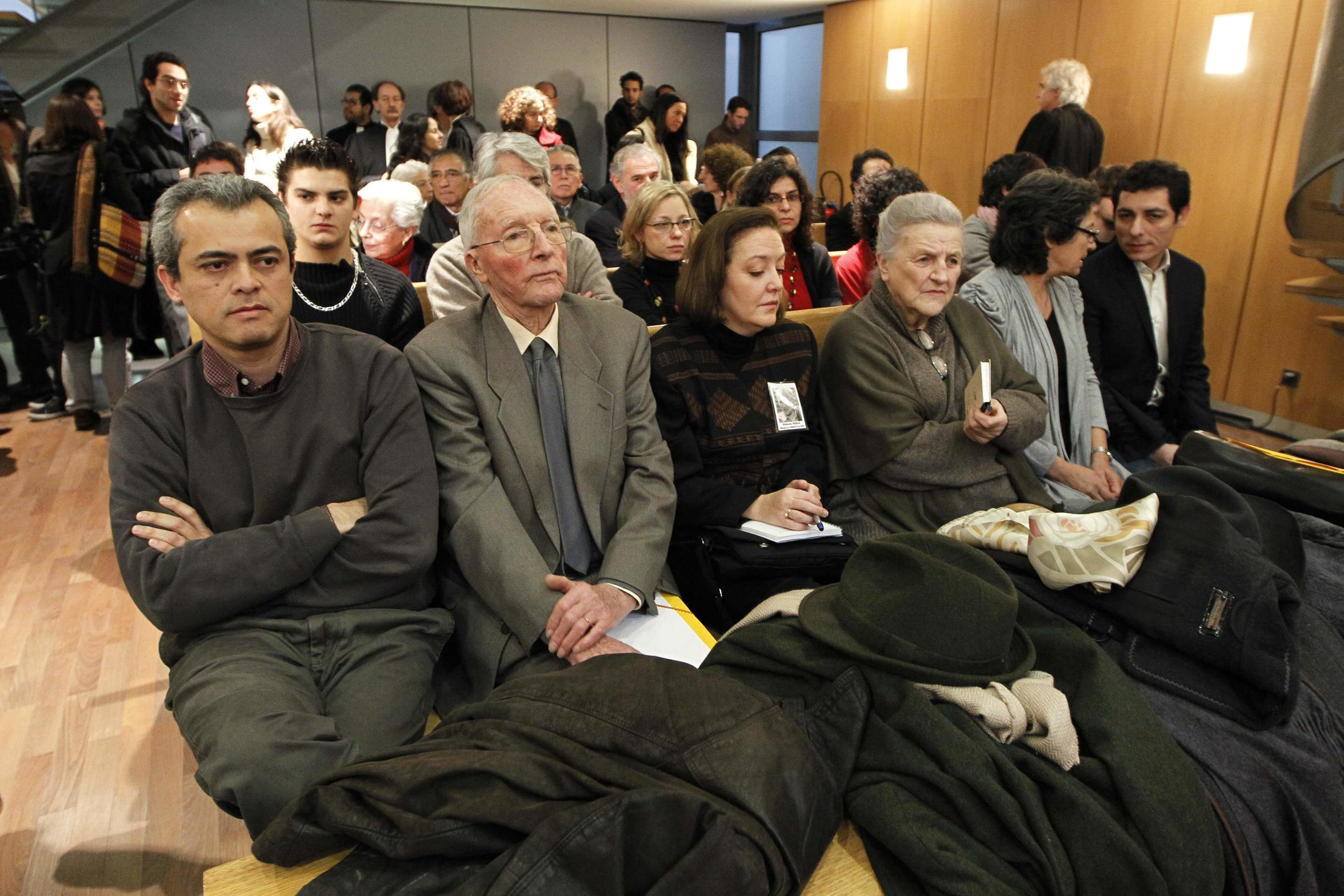 """Relatives of the four French nationals who disappeared during Chile's """"dirty war"""""""