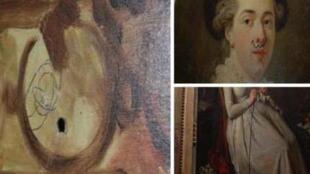Várias telas do museu Fragonard, em Grasse, no sul da França, foram rabiscadas e até mesmo furadas à caneta entre setembro e outubro deste ano.