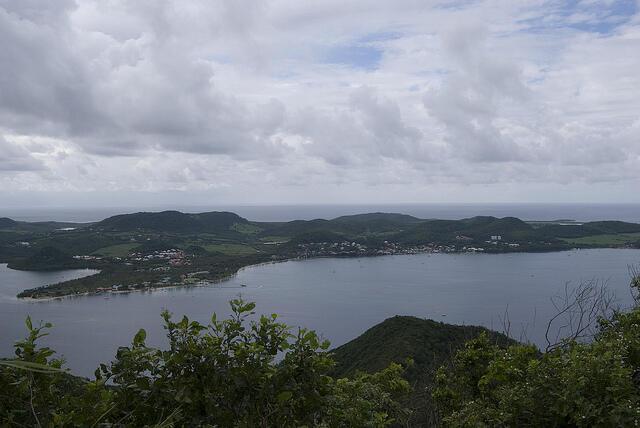 Sainte Anne, kisiwani Martinique kwenye visiwa vya Karibi.