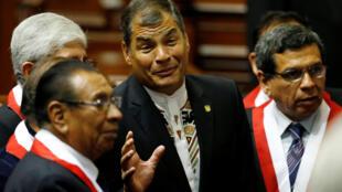 El presidente ecuatoriano Rafael Correa se quiere ir a vivir a Europa.