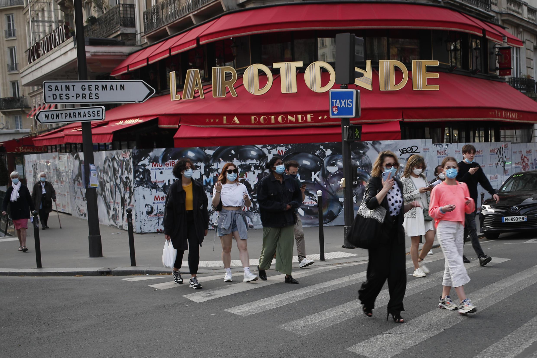 Paris- restaurant fermé. Phôt 01/04/2021.